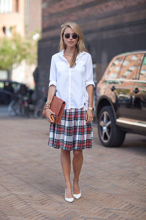 whites plaid pointy shoes hbz copenhagen street
